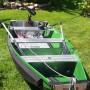 barque dépliée